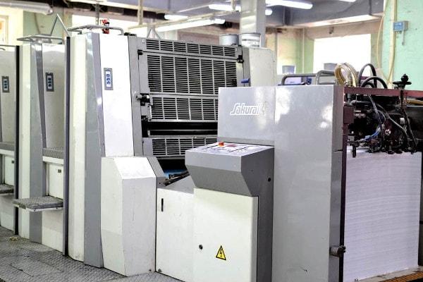 оборудование типографии офсетной печати